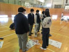 新聞紙タワー