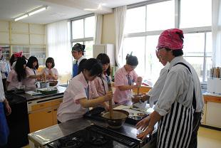 五平餅作り
